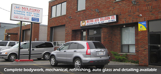 Milford Auto Collision Ltd Toronto Collision And